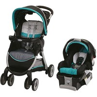 Graco FastAction Fold Classic Connect Travel System, Dolce - Walmart.com