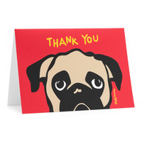 Pug Thank You Cards