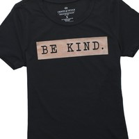 Be Kind Rose Gold Graphic T-Shirt