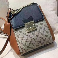 GUCCI  New fashion more letter leather mini backpack bag women