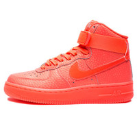 NIKE WOMEN'S AIR FORCE 1 HI PRM - HOT LAVA   Undefeated