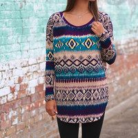 Kaleidoscope Tunic {Jade Mix}
