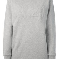 Nº21 raised logo sweatshirt