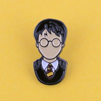 Chosen Wizard Boy Enamel Pin