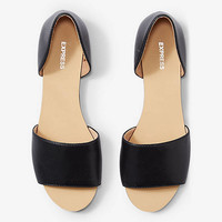 Open Toe D'orsay Flat from EXPRESS