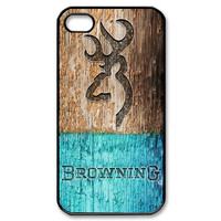 Design Custom Browning Deere Mint on Wood for Your Phone Device