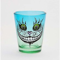 Pot Leaf Cat Eyes Shot Glass - 1.5 oz. - Spencer's