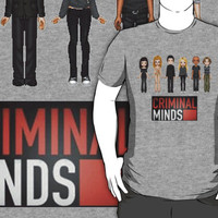 Criminal Minds Wanted by FBI Characters