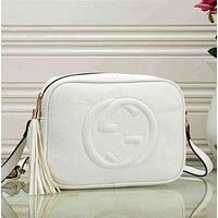 GG Popular Women Leather Satchel Crossbody Handbag Shoulder Bag
