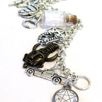 A Hunter's Charms - A Supernatural Inspired Charm Bracelet