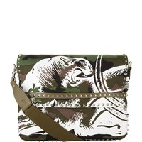 Valentino Panther Camo Messenger Bag | Harrods.com