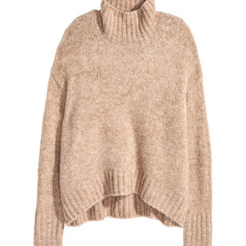 Knit Turtleneck Sweater - from H&M