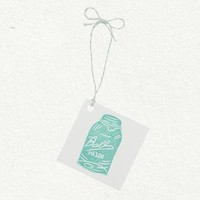 Ball Jar Gift Tags