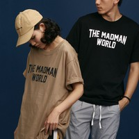 The Madman World Tee | Black/White