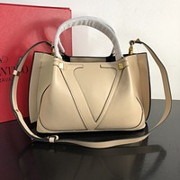Valentino Women's Tote Bag Handbag Shopping Leather Tote Crossbody Satchel 0315