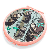 After Your Beauty Sleep Compact Mirror by Disaster Designs from ModCloth