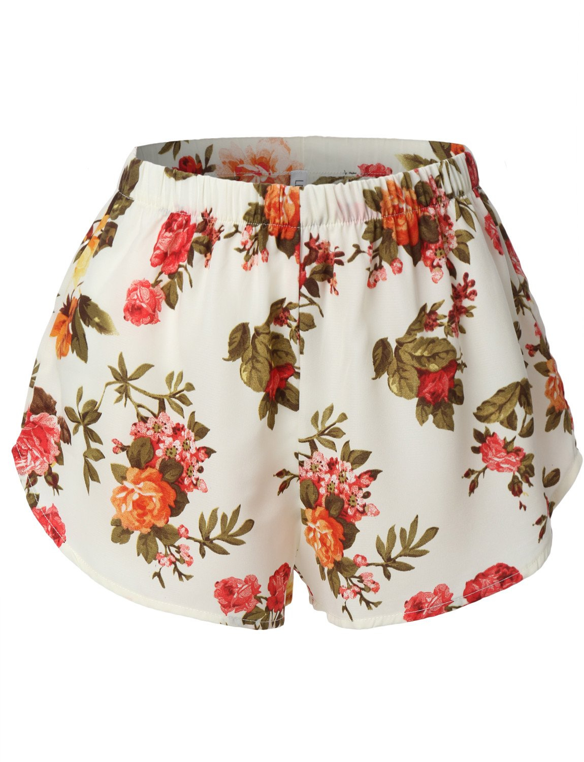 Image of Lightweight  Floral Print Loose Beach Short (CLEARANCE)