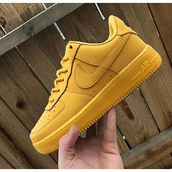 Nike Air Froce one 1 Classic Trending Perfect Breathable Shoes Sneakers Black Hook