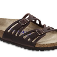 Granada Soft Footbed Habana Oiled Leather Sandals | Birkenstock USA Official Site