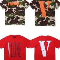 hcxx c 1094 Vlone Casual Fashion Skateboard T Shirt