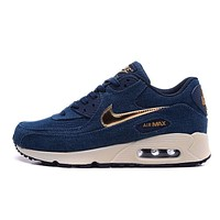 Nike Wmns Air Max 90 Liberty QS Men Women Running Shoes