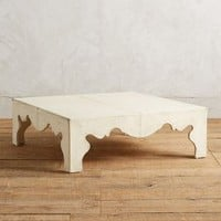 Calliope Coffee Table by Anthropologie in White Size: One Size Furniture