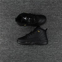 Kids Air Jordan 12 Black Sneaker Shoe | Best Online Sale