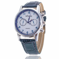 Mens Business Leather Watch Boys Casual Sports Unique Watches +  Beautiful Gift Box