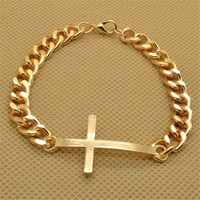 Fashion Cross Chain Bracelet