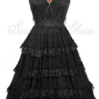 Spin Doctor OPHELIA Long Victorian Dress