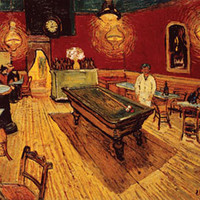 Night Café with Pool Table