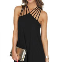 In The Spotlight Dress Black