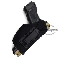 5 color Outdoor Tactical Gun Holster Military Airsoft Hunting Belt Holster Right Gun Holster Case Military Gear