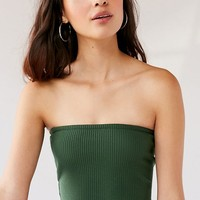 UO Hallie Ribbed Knit Tube Top | Urban Outfitters