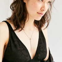Chain Knot Lariat Necklace - Urban Outfitters