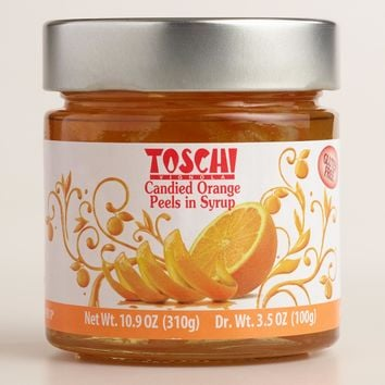 Toschi Candied Orange Peels in Syrup