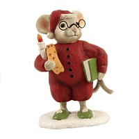 Christmas Papa Mouse Glasses Cheese Candle - TD9030