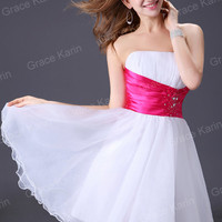 New Evening Homecoming Party Prom Cocktail Short Dress Bridesmaid Formal Dresses