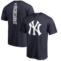 Didi Gregorius New York Yankees Fanatics Branded Backer T-Shirt – Navy