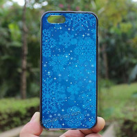 snowflakes,iphone 4 case,iPhone4s case, iphone 5 case,iphone 5c case,Gift,Personalized,water proof