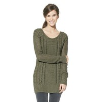Mossimo Supply Co. Juniors Open Stitch Cable Tunic - Assorted Colors