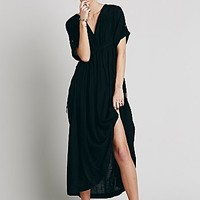 Free People Womens Solid Oasis Dress