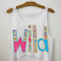 Wild Crop Top | fresh-tops.com