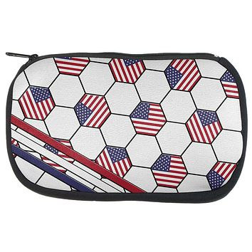 4th of July USA World Cup Soccer Ball Travel Bag