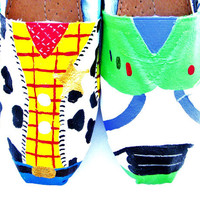The Woody - Toy Story Inspired Custom Painted TOMS