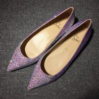 DCCK2 Cl Christian Louboutin Flat Style #724