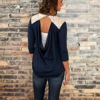 I'll Be There Lace Blouse
