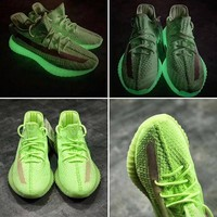 "adidas Yeezy Boost 350 V2 ""Glow in the Dark"" Sping GID - Best Deal Online"