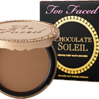 Chocolate Soleil - Medium/Deep Matte Bronzer - Too Faced