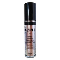 NYX Roll on Eye Shimmer - Salmon Pink with Gold Glitter for Face, Eyes & Body